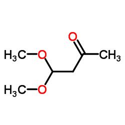 4,4-二甲氧基-2-丁酮结构式