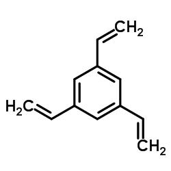1,3,5-trivinylbenzene结构式