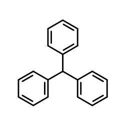 三苯基甲烷结构式