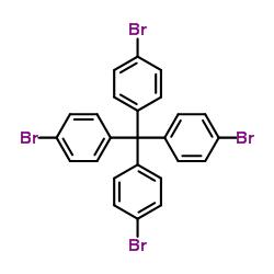 四(4-溴苯)甲烷结构式