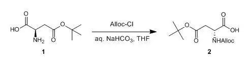 烯丙氧羰基(Alloc)保护氨基